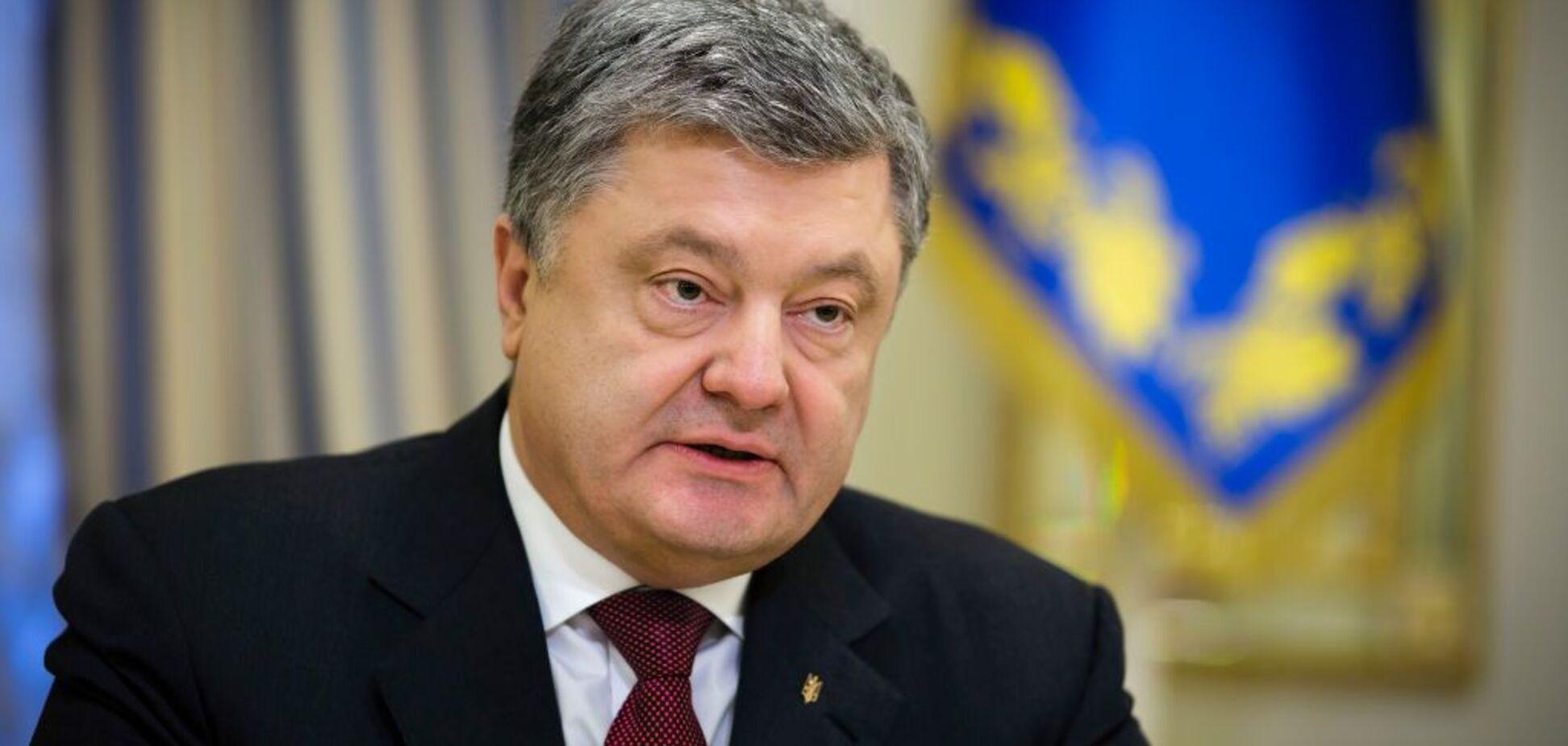 Порошенко запропонував назвати іменем Маккейна вулицю в Києві