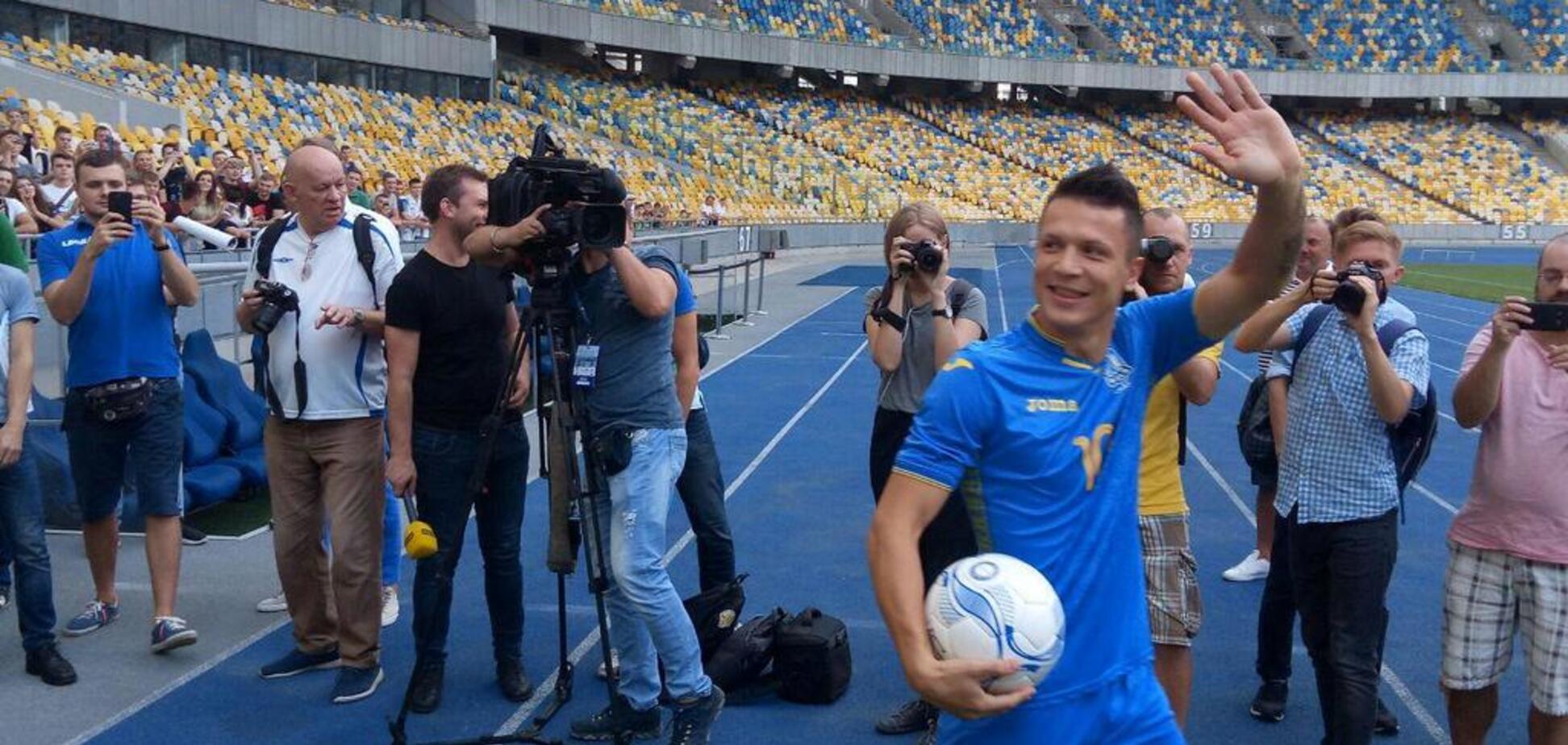 Второй тайм! Чехия – Украина: онлайн-трансляция матча Лиги наций