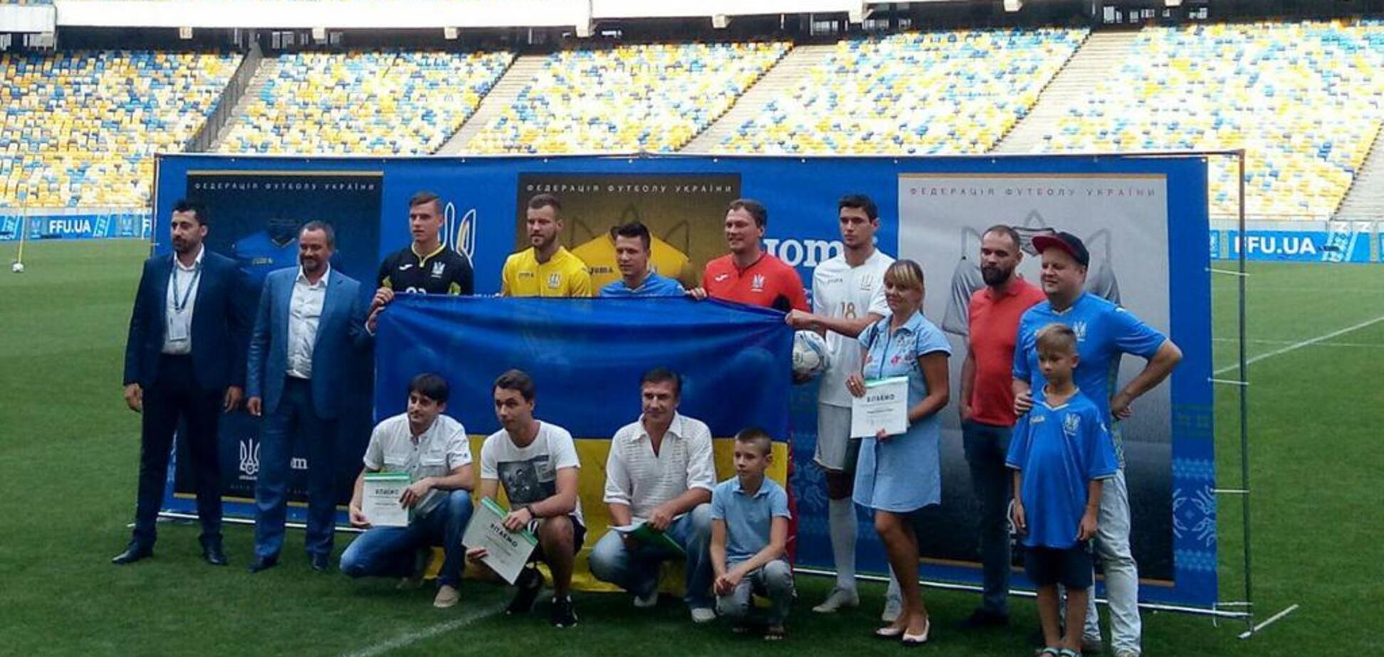 Нова форма збірної України з футболу викликала агонію у російських уболівальників