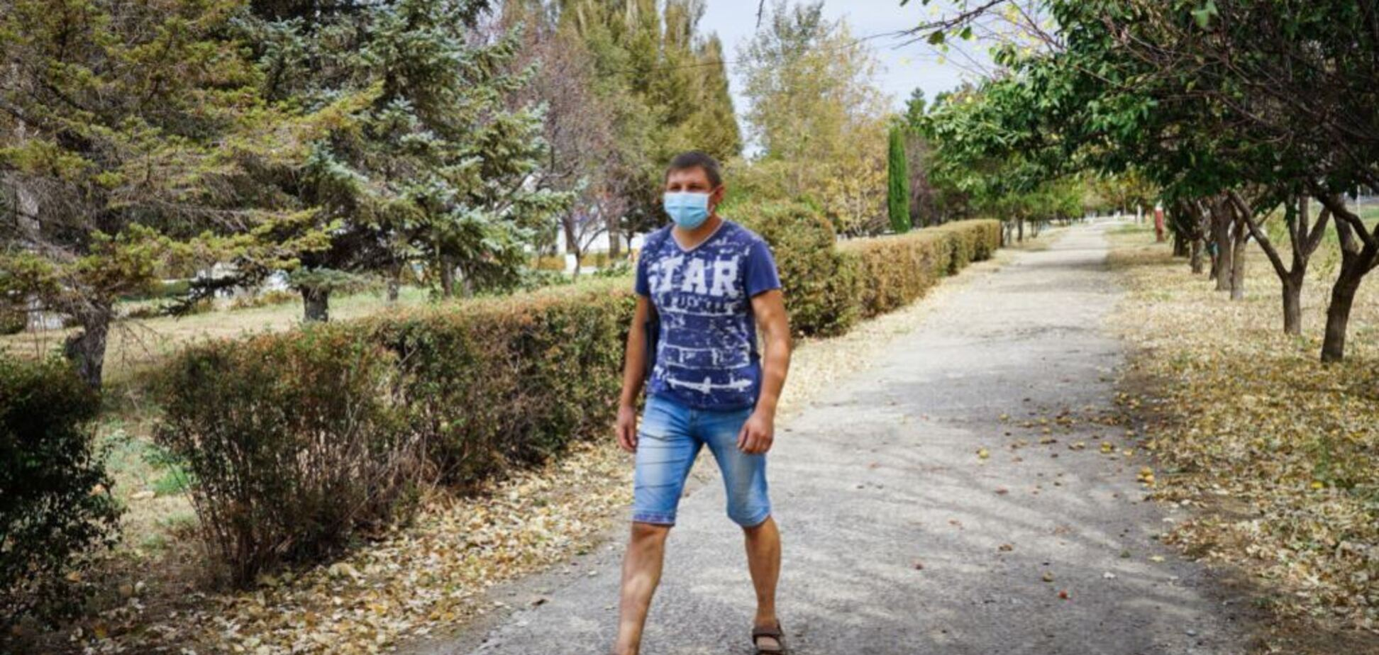 Деревья ''облысели'': появились свежие фото из пораженного 'химатакой' Крыма