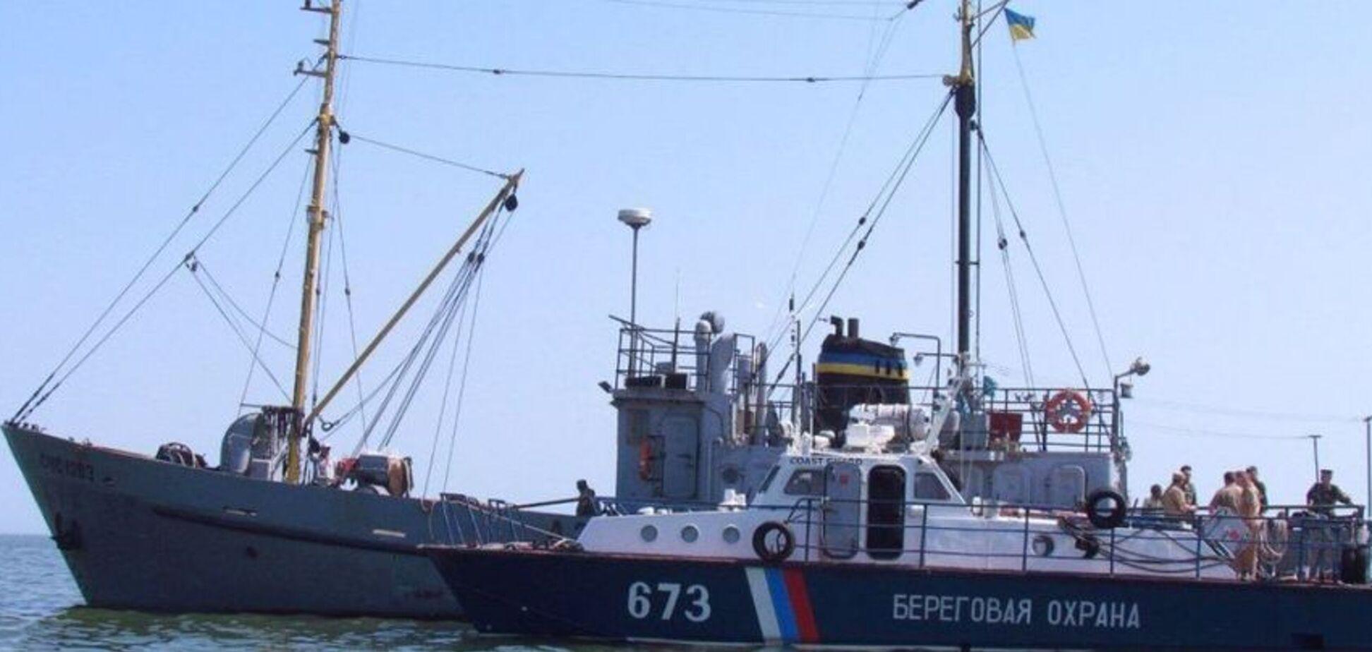 Криза в Азовському морі: ФСБ демонстративно затримує судна