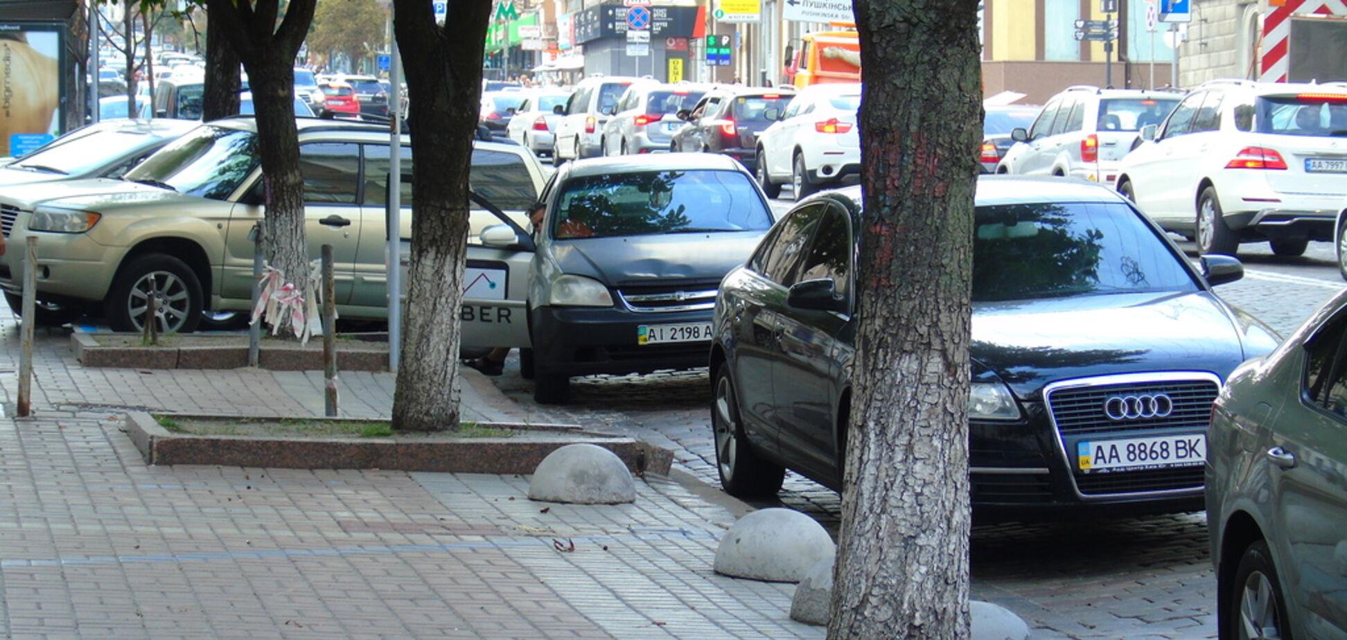 Парковка в карман киевлян, или Л*хи платят за все