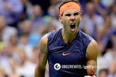 Драма дня: Надаль с историческим достижением вышел в полуфинал US Open