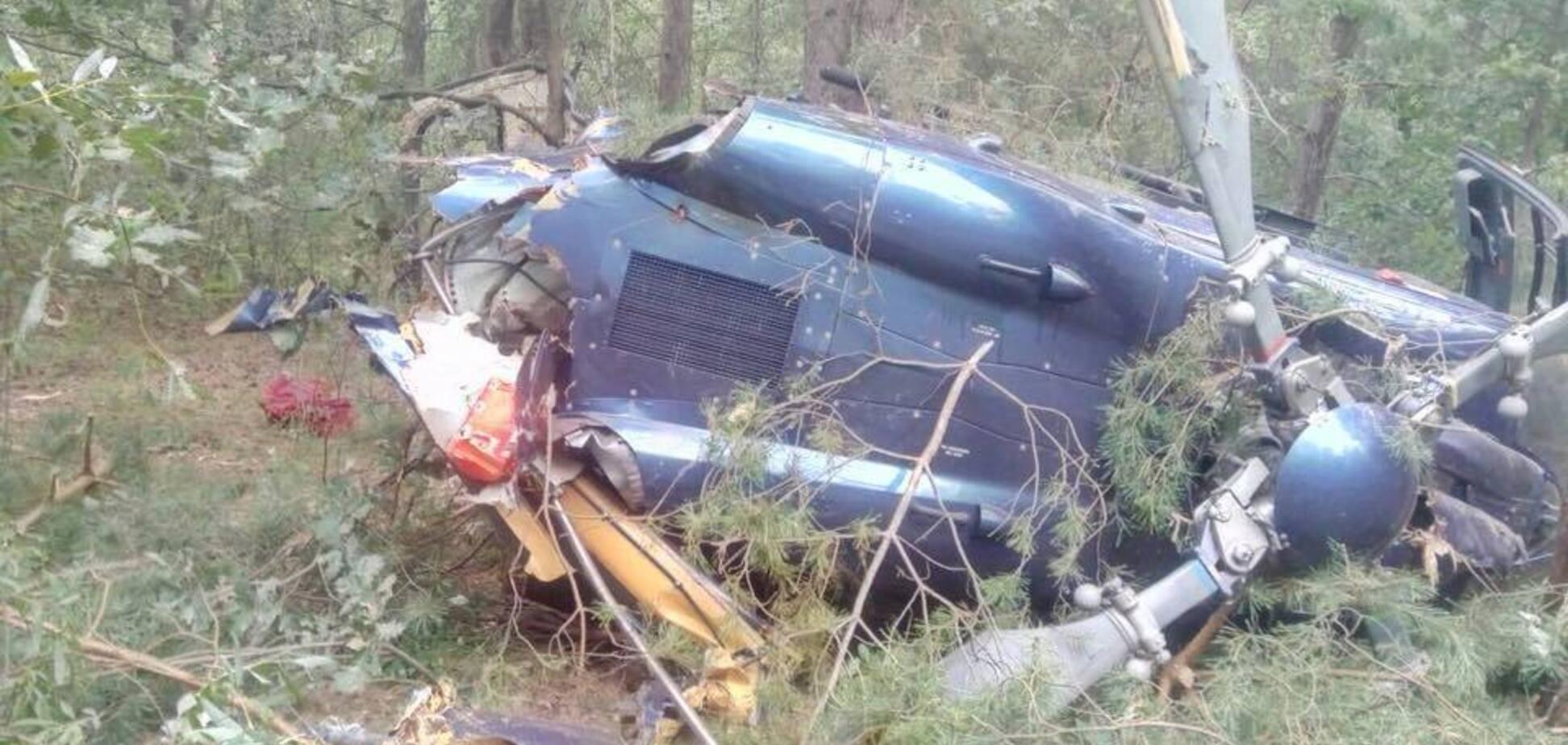 Разбившийся в Киеве вертолет принадлежит известному олигарху