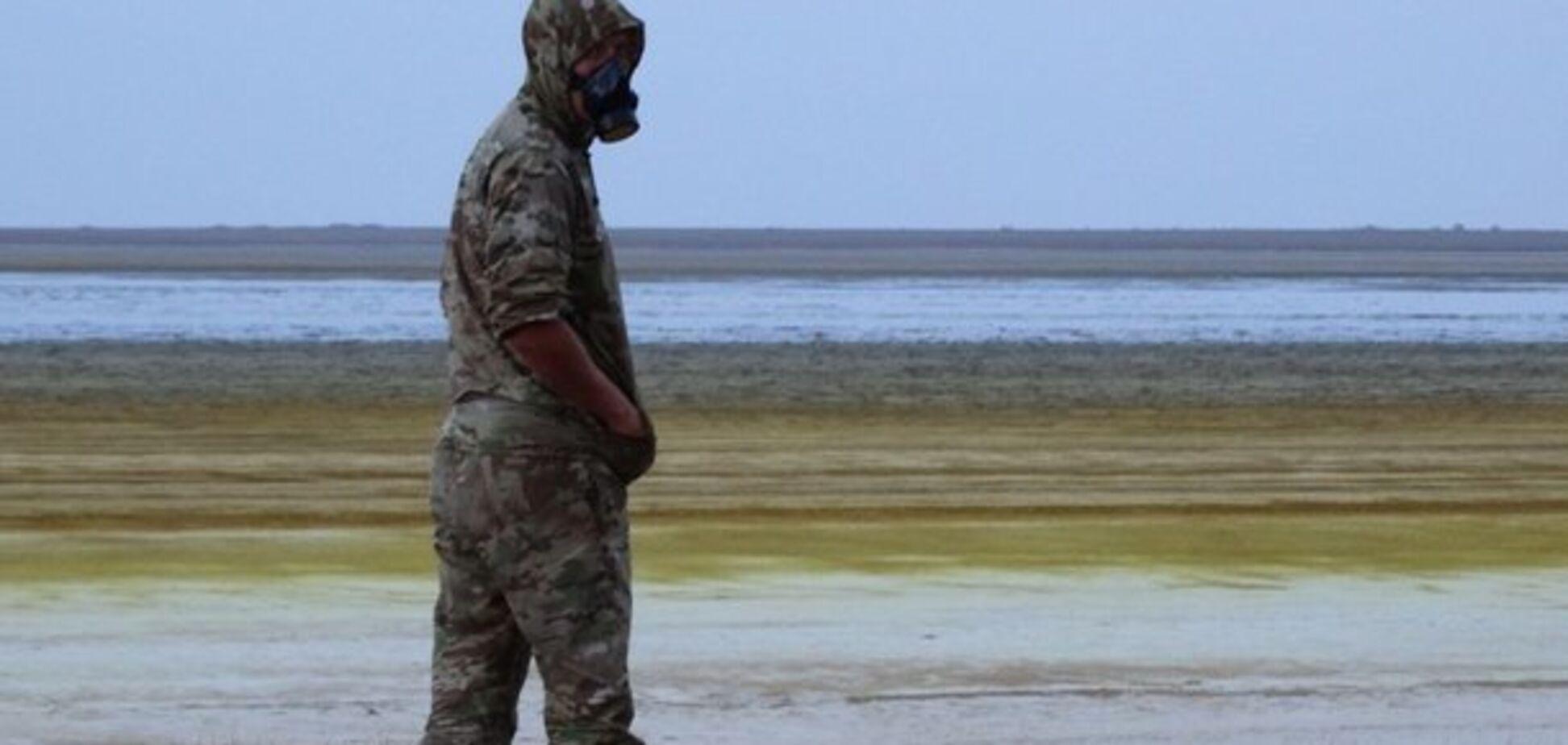 Умирают коты и птицы: появились жуткие фото последствий экокатастрофы в Крыму