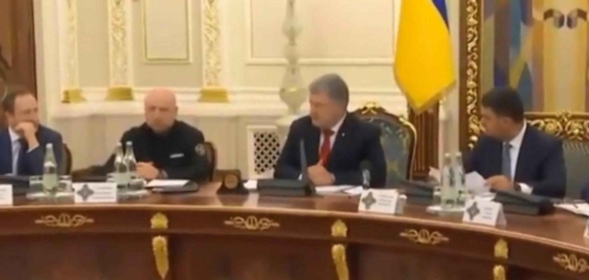 Блокада Азовского моря: СНБО собрался на тайное заседание
