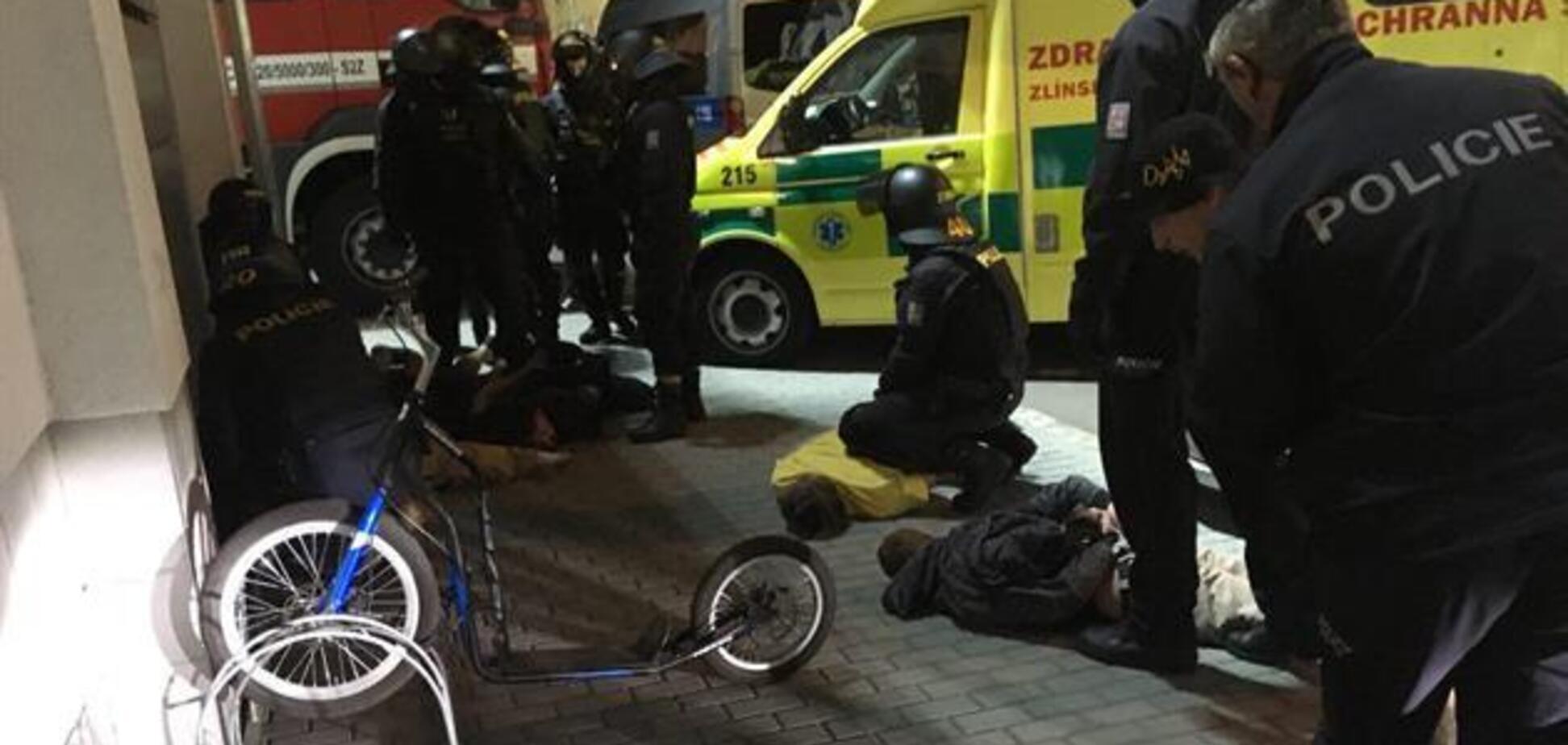 Драка украинских фанатов с полицией в Чехии: СМИ сообщили об арестах
