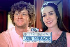 Андрей Шатырко | Business Lunch с  Анастасией Рагимовой