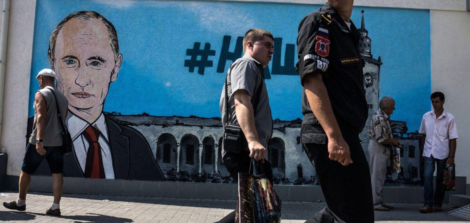 'Война – дороге дело': на Западе рассказали, как Путин платит за оккупацию Крыма и Донбасса