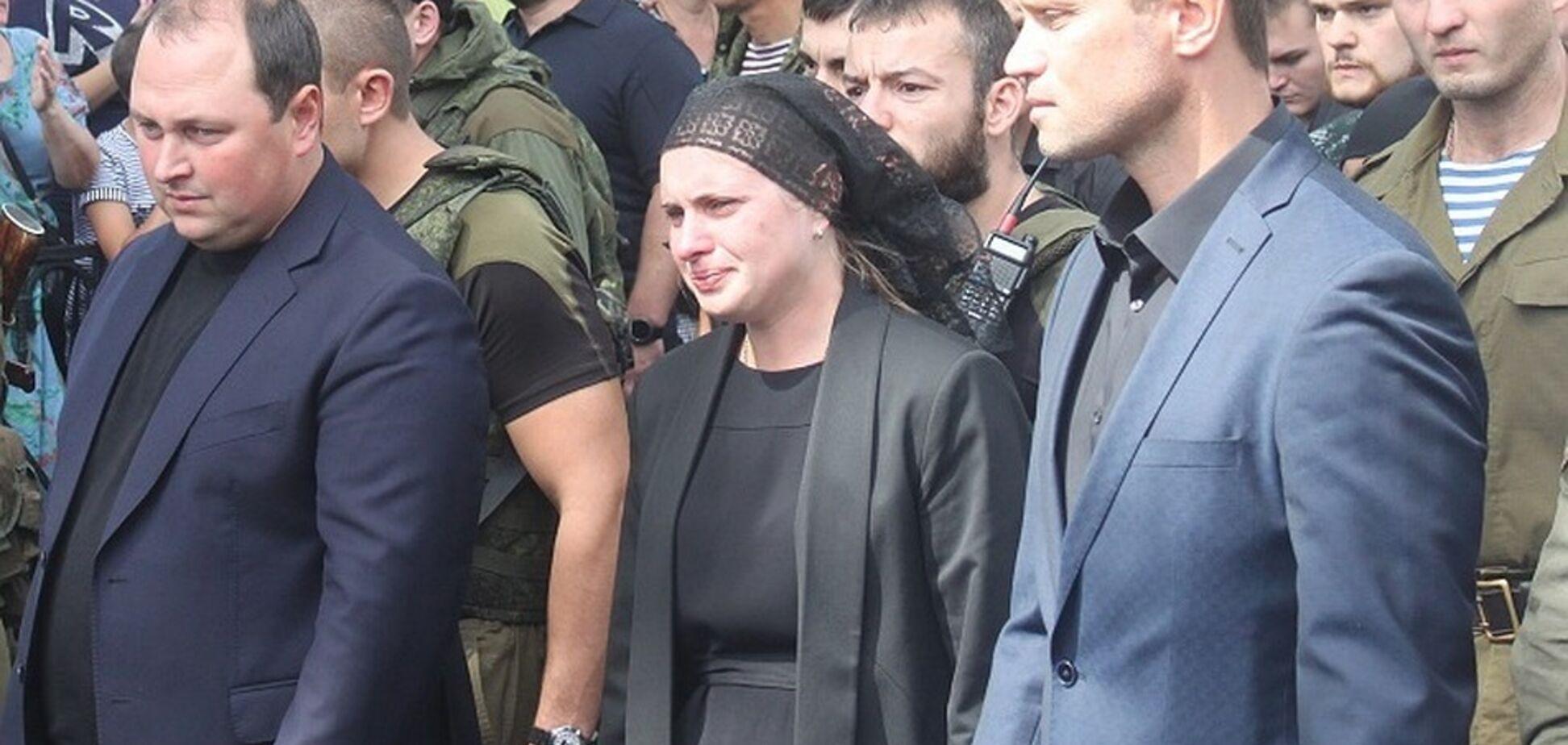 ''Не зря воевала'': вдова Захарченко нацелилась на кресло главаря ''ДНР''