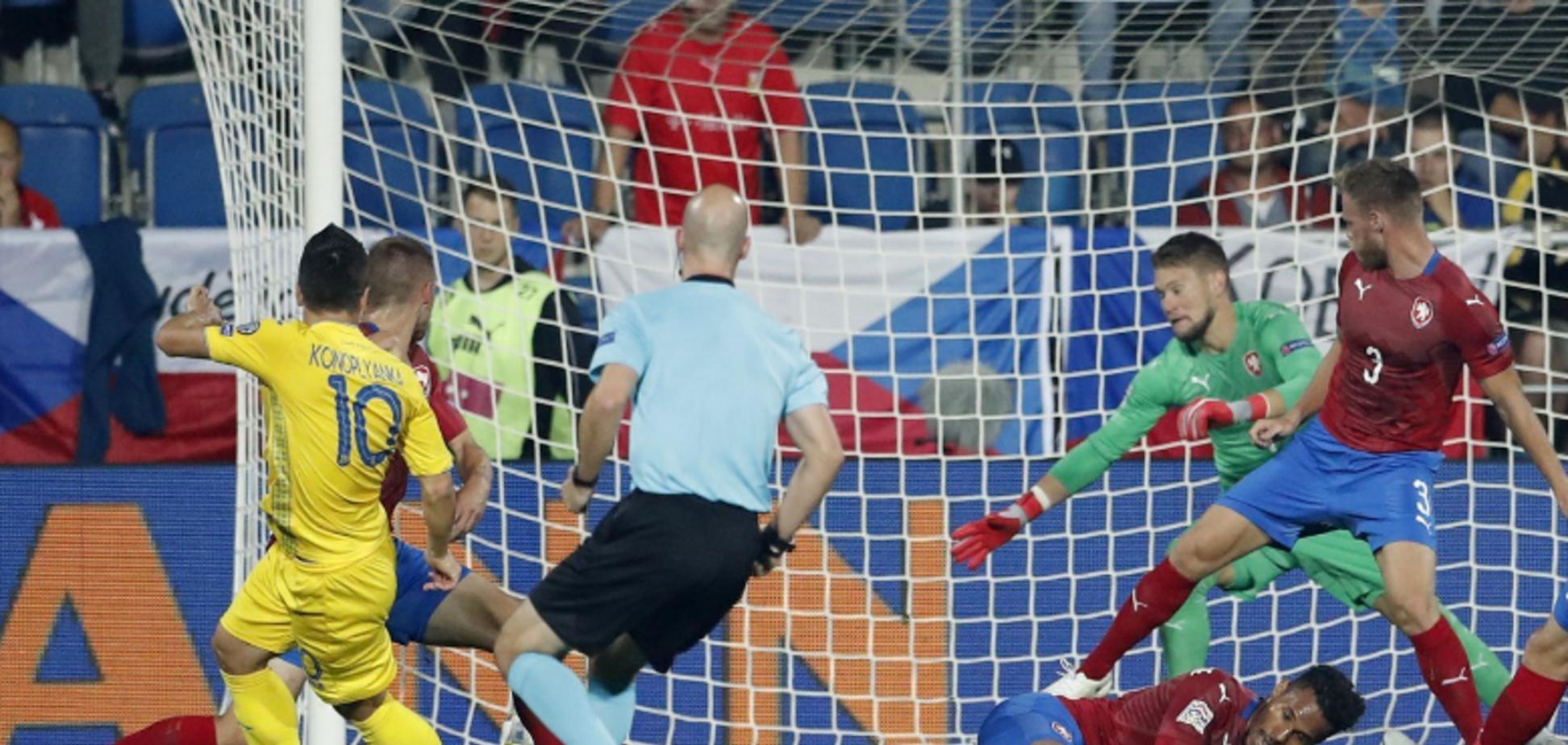 'Романтично': Коноплянка отжег после матча с Чехией