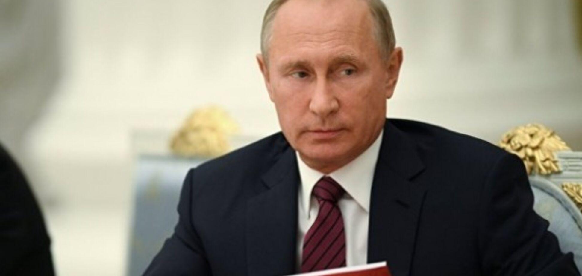 'Считай, великан!' Путин повеселил сеть новой иллюзией с ростом