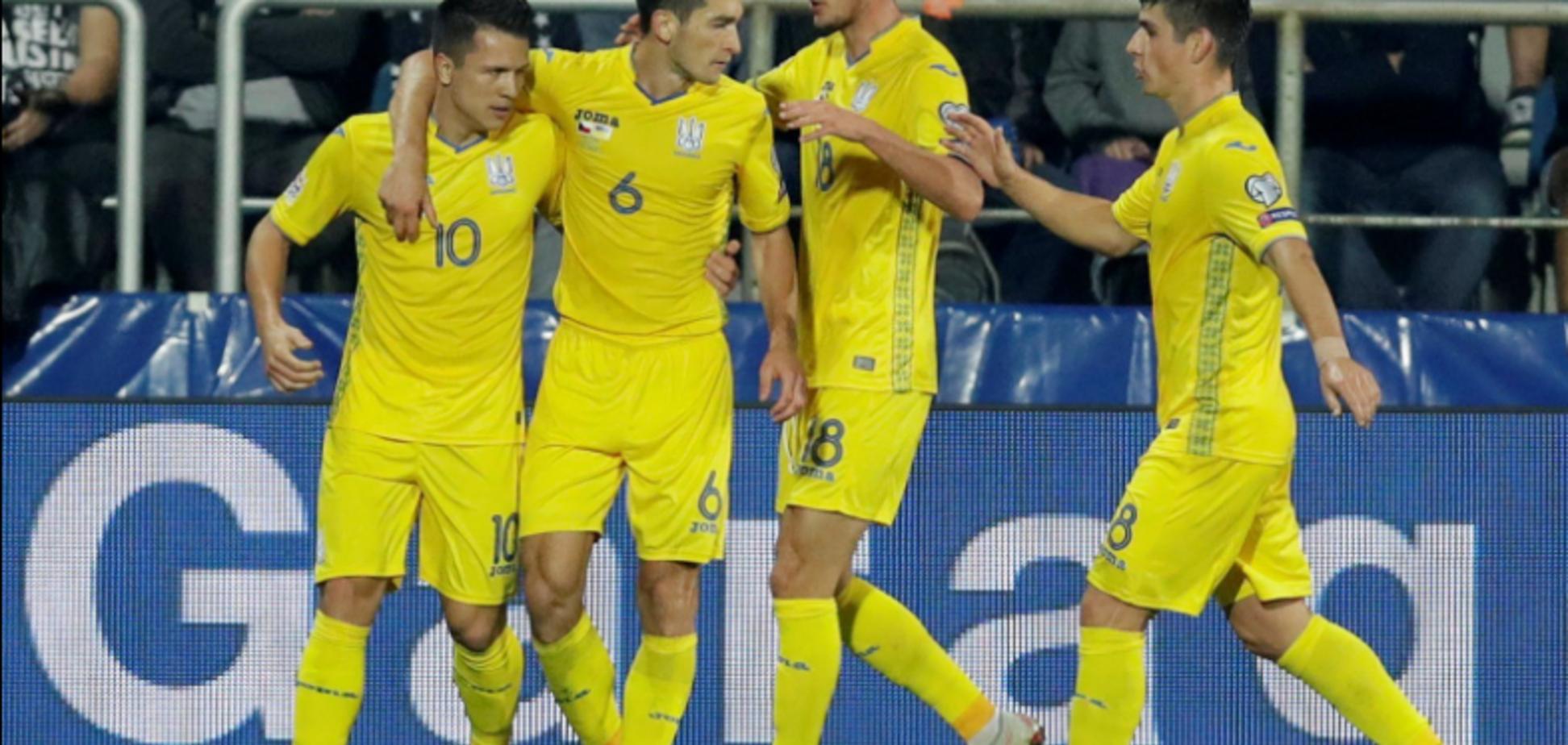 Футболісти збірної України яскраво віддячили фанатам за підтримку: опубліковано відео