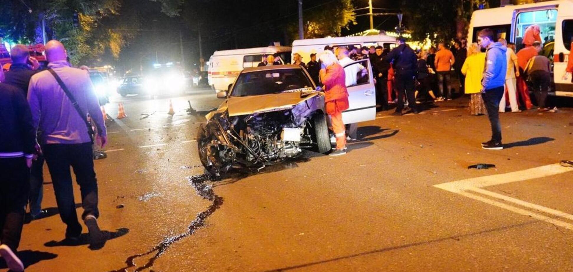 Трагедия с BMW в Одессе: момент аварии попал на видео. 18+
