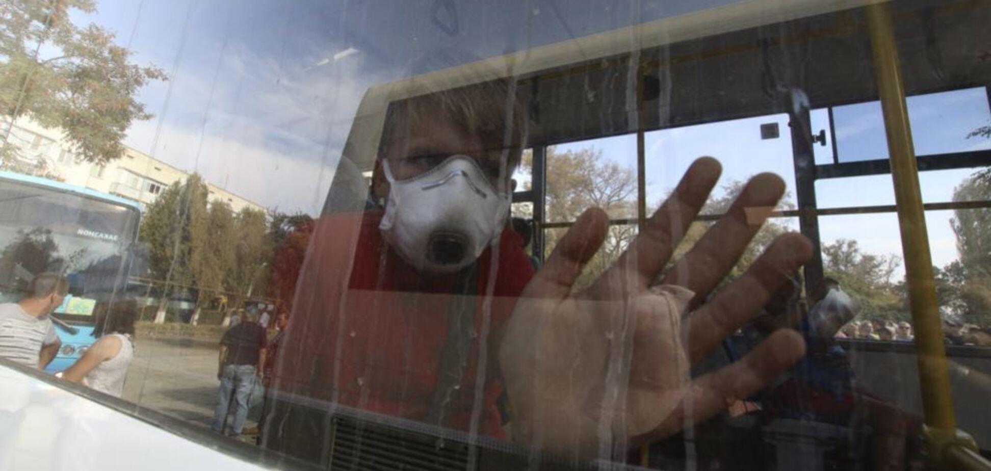 На Херсонщине начали срочно спасать детей из-за ''химатаки'' из Крыма