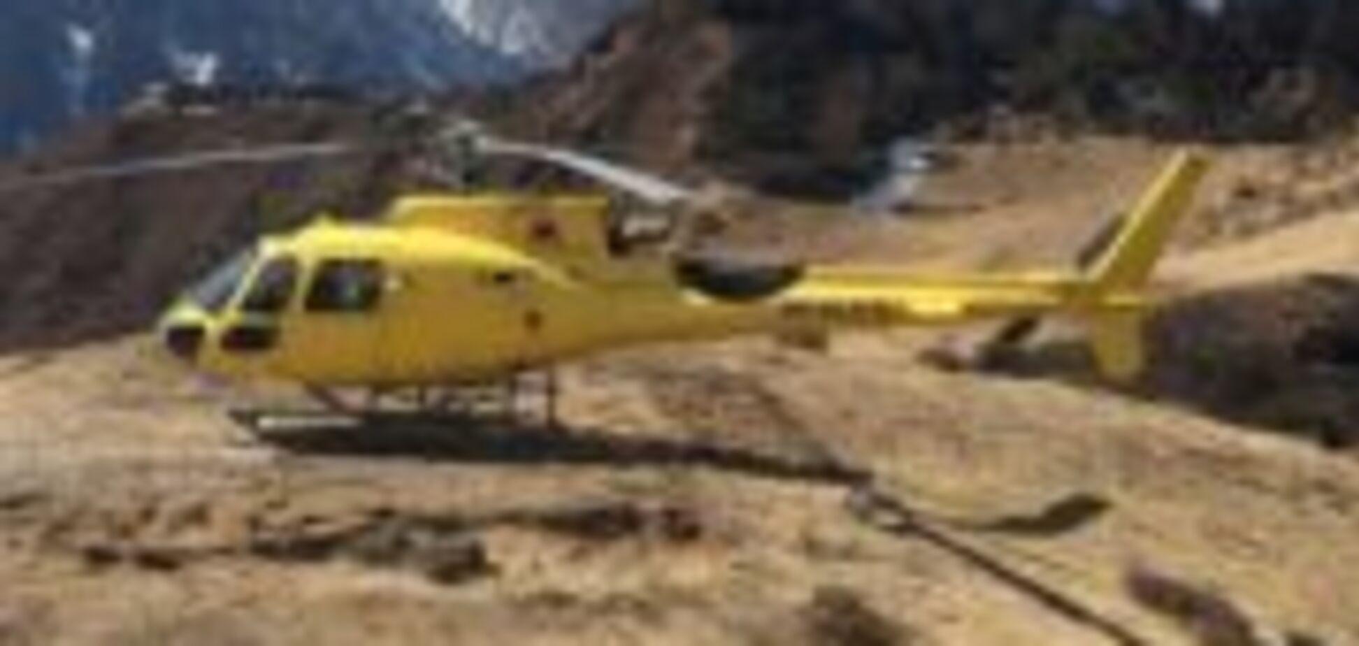 У Непалі впав вертоліт: багато загиблих