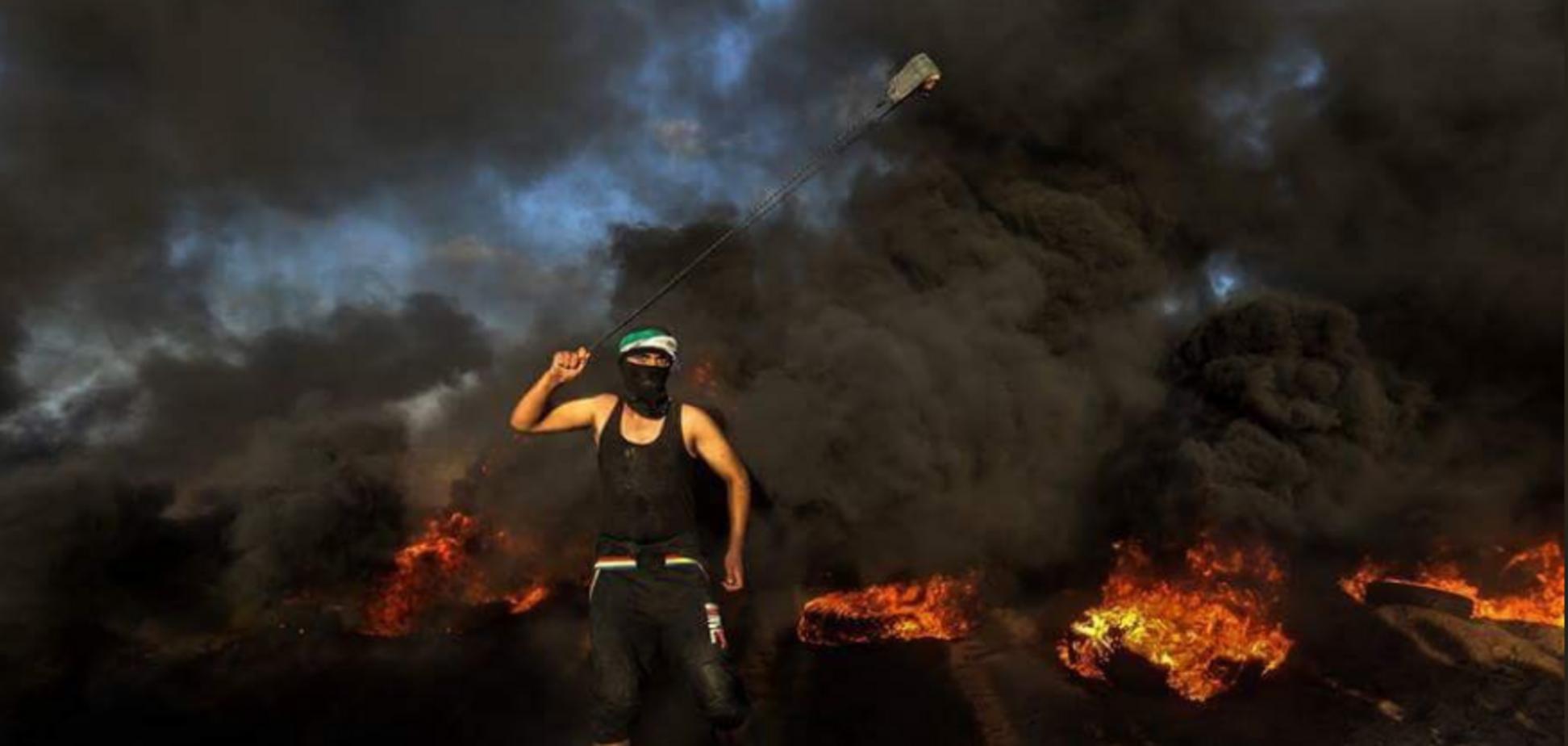 На кордоні Ізраїлю і сектора Газа спалахнули запеклі бої: є жертва, сотні постраждалих