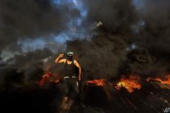 На границе Израиля и сектора Газа вспыхнули жаркие бои: есть жертва, сотни пострадавших