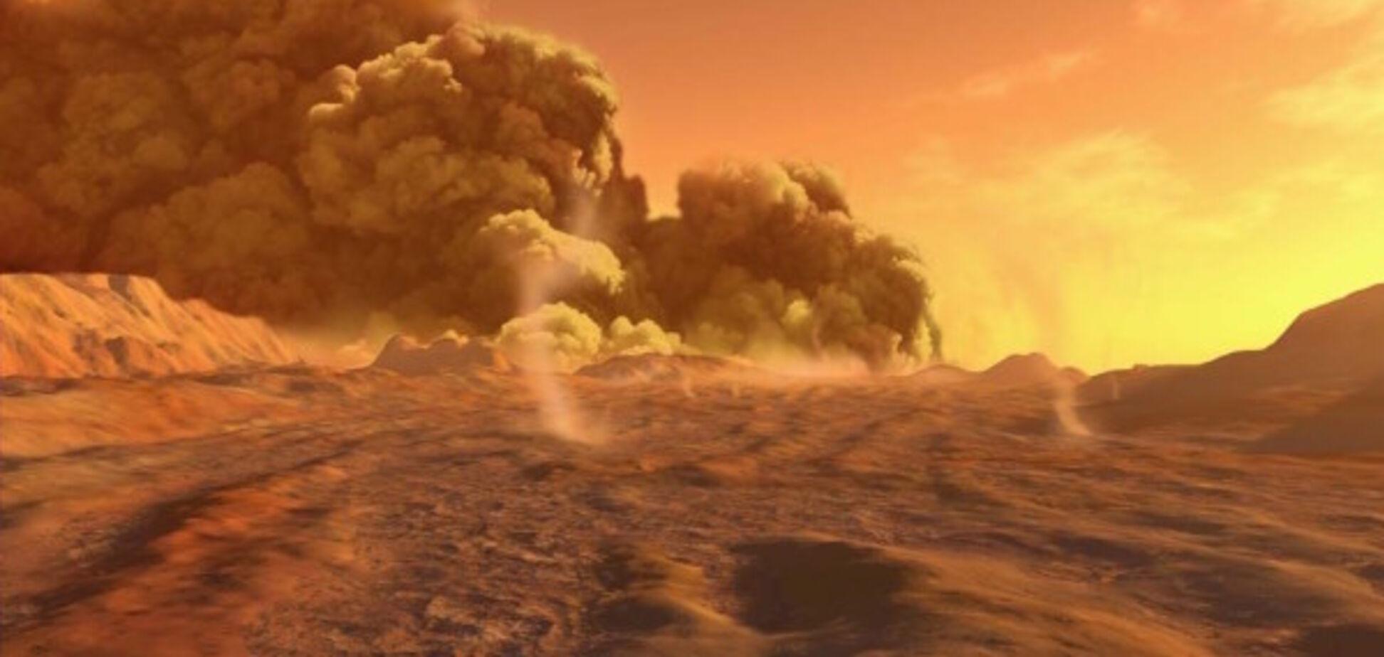У NASA зняли страшну бурю на Марсі: ефектне відео