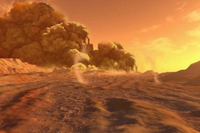 Nasa Filmed A Terrible Storm On Mars Spectacular Video