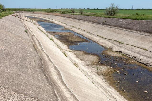 Участок Северо-Крымского канала