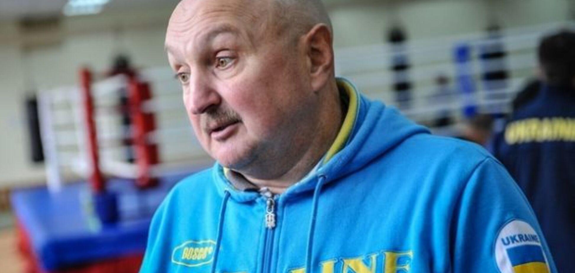 Сборная Украины по боксу внезапно лишилась главного тренера