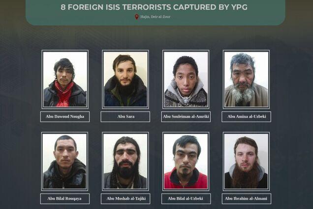 Задержанные в Сирии