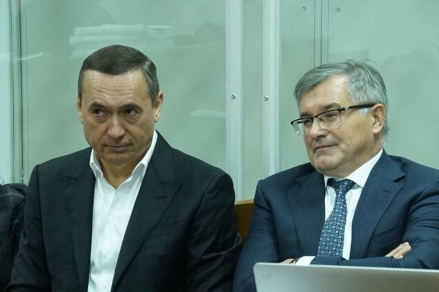 Микола Мартиненко з адвокатом