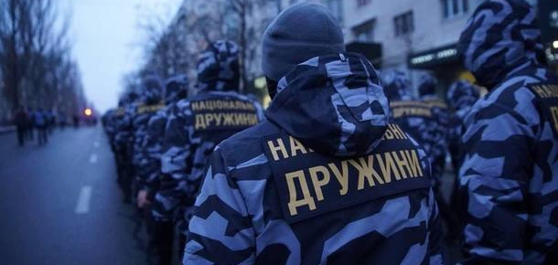 'Нацдружини' спостерігатимуть за виборами президента України