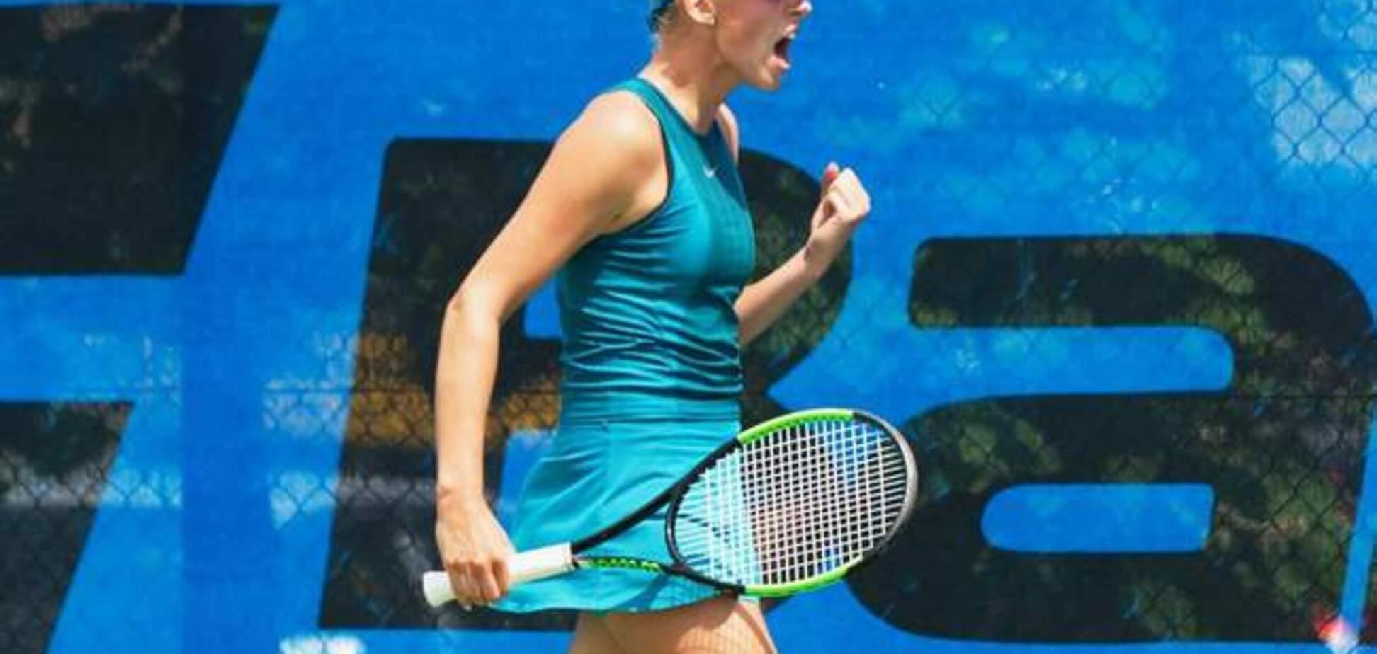 15-летняя украинка выиграла престижный теннисный турнир