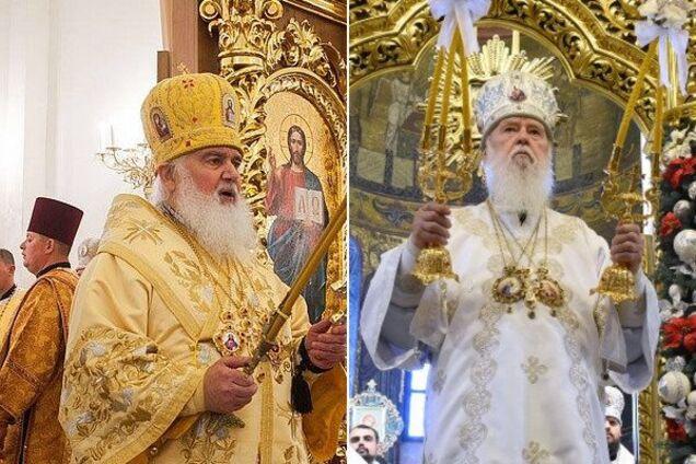 Митрополиты Макарий (слева) и Филарет