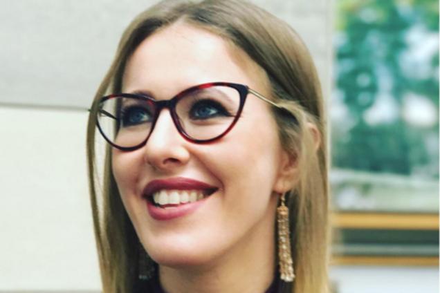 ''Не для Росгвардии'': Собчак потроллила хейтеров новым видео из Киева