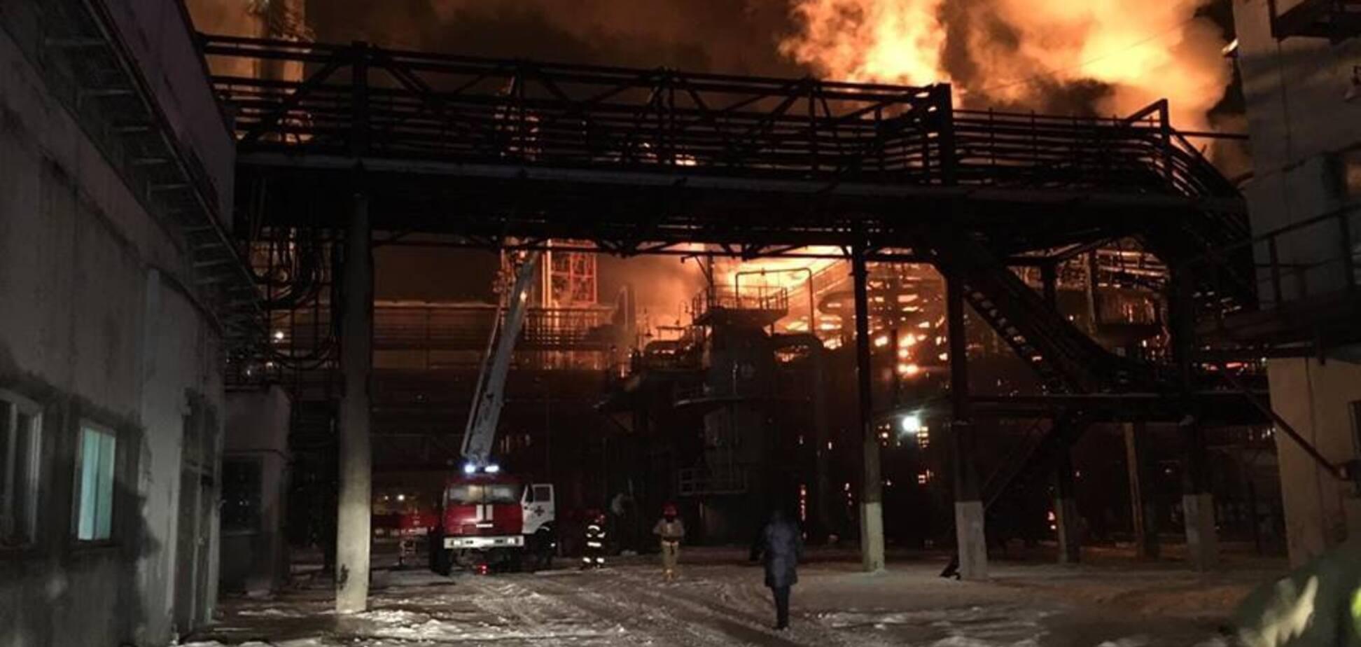 Пожежа в Калуші