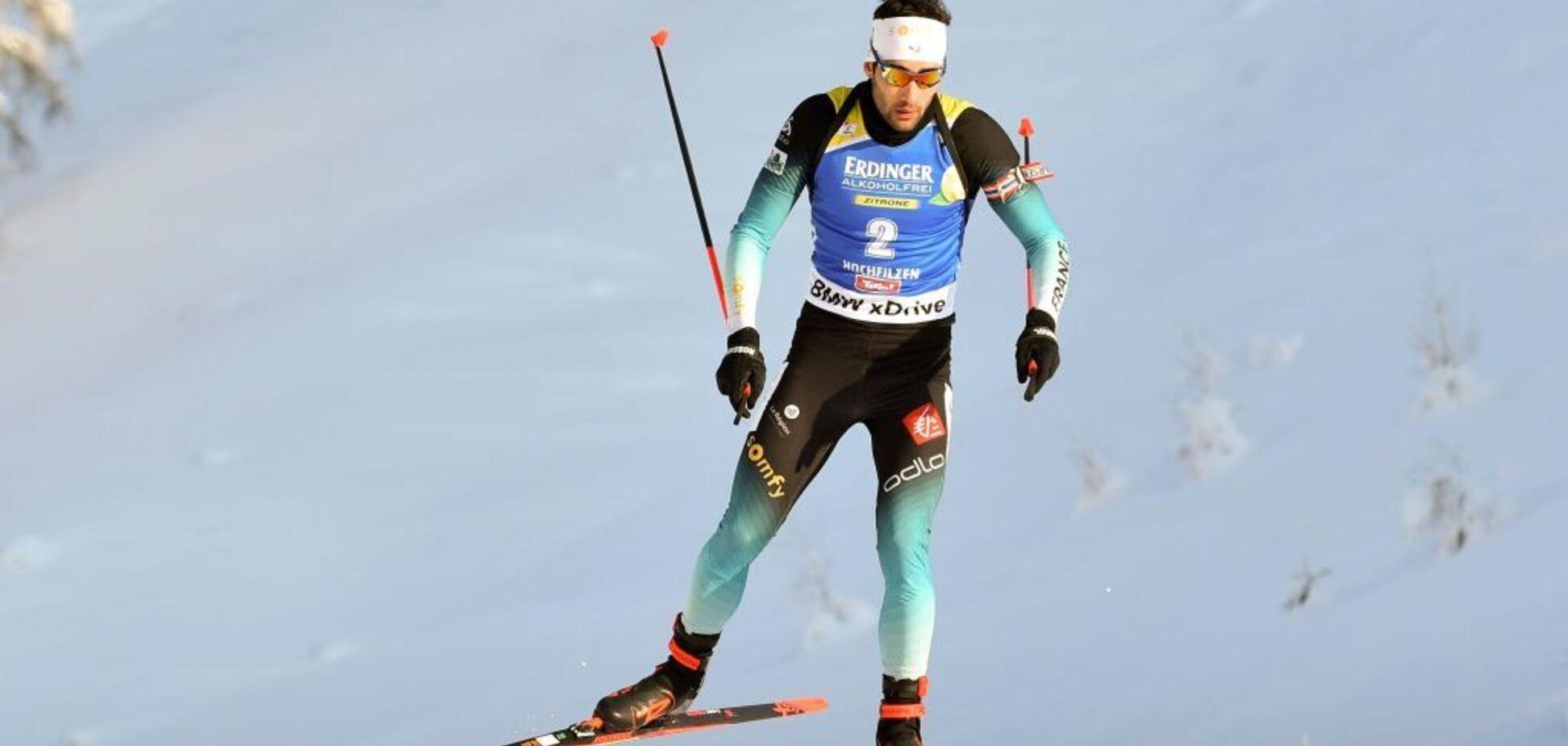 Найкращий біатлоніст планети потрапив у пастку суперників під час перегонів