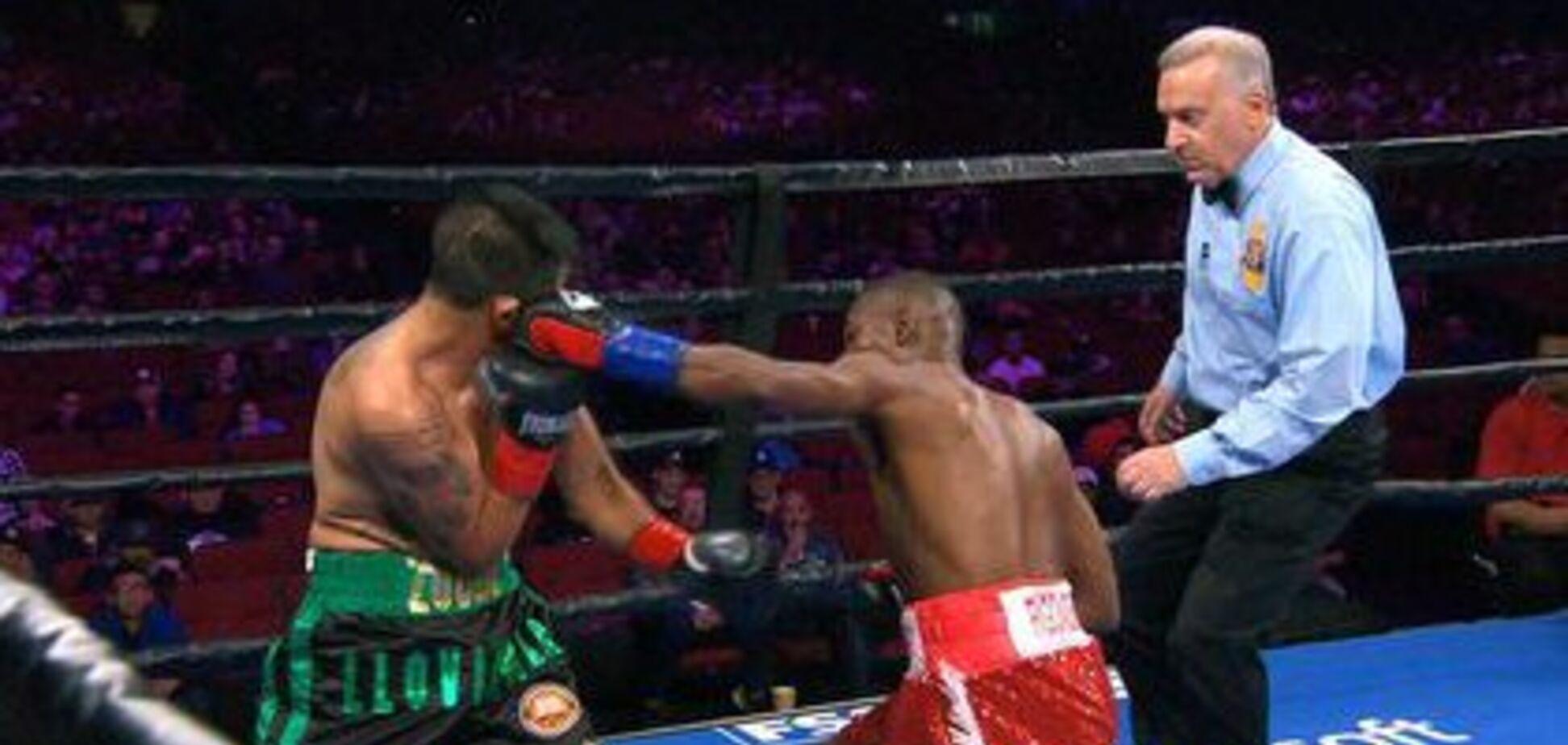 Побитий Ломаченком боксер виграв бій ефектним нокаутом у 1-му раунді