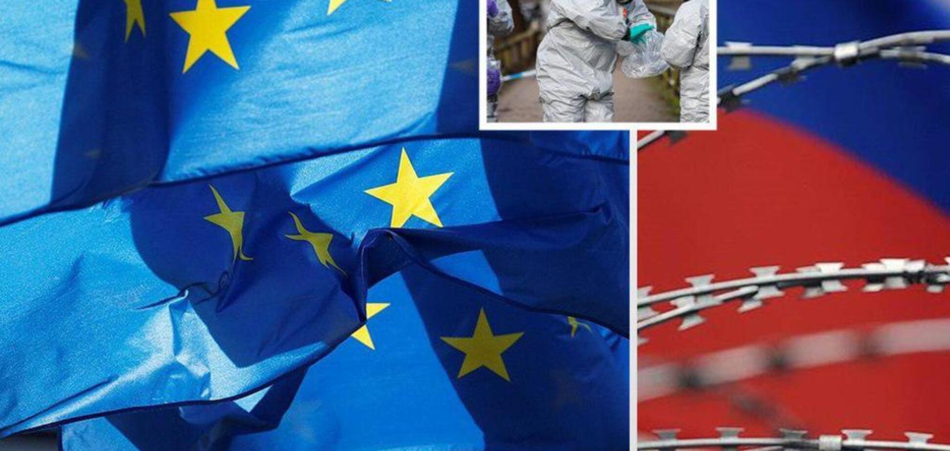 За отруєння 'Новачком': ЄС завдав нового санкційного удару по Росії