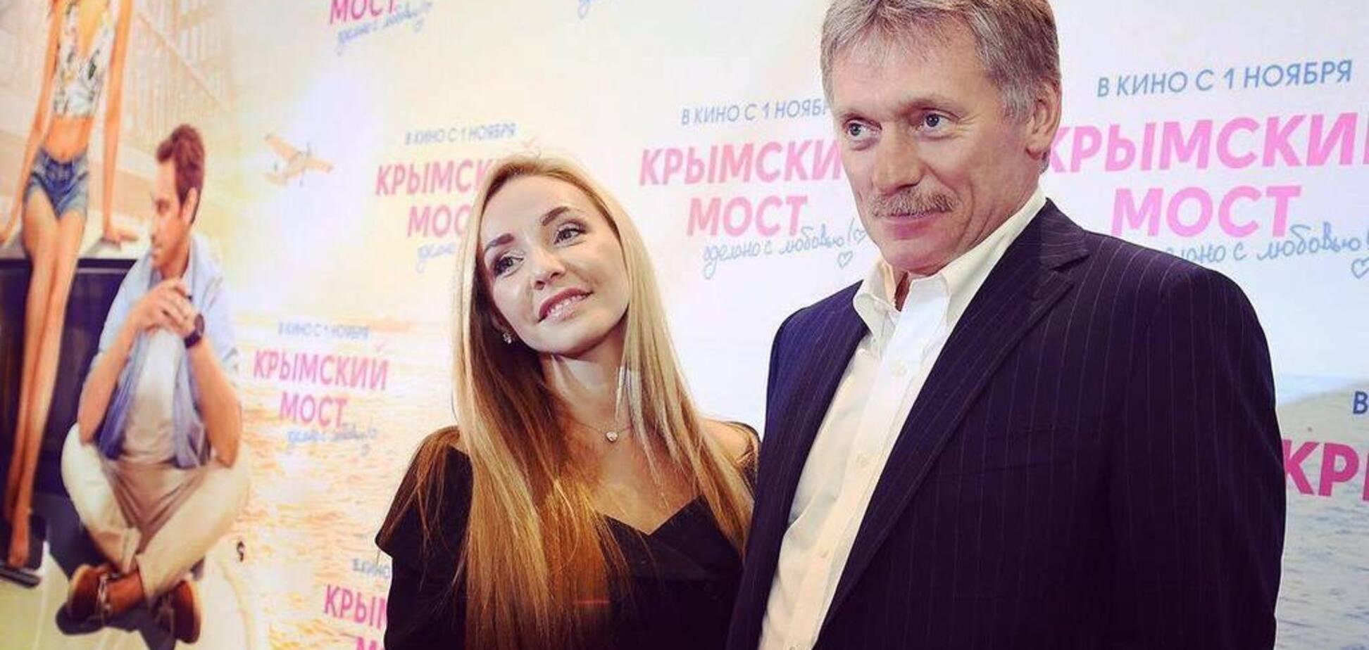 Дружина правої руки Путіна оголилася на відпочинку: з'явилося відео