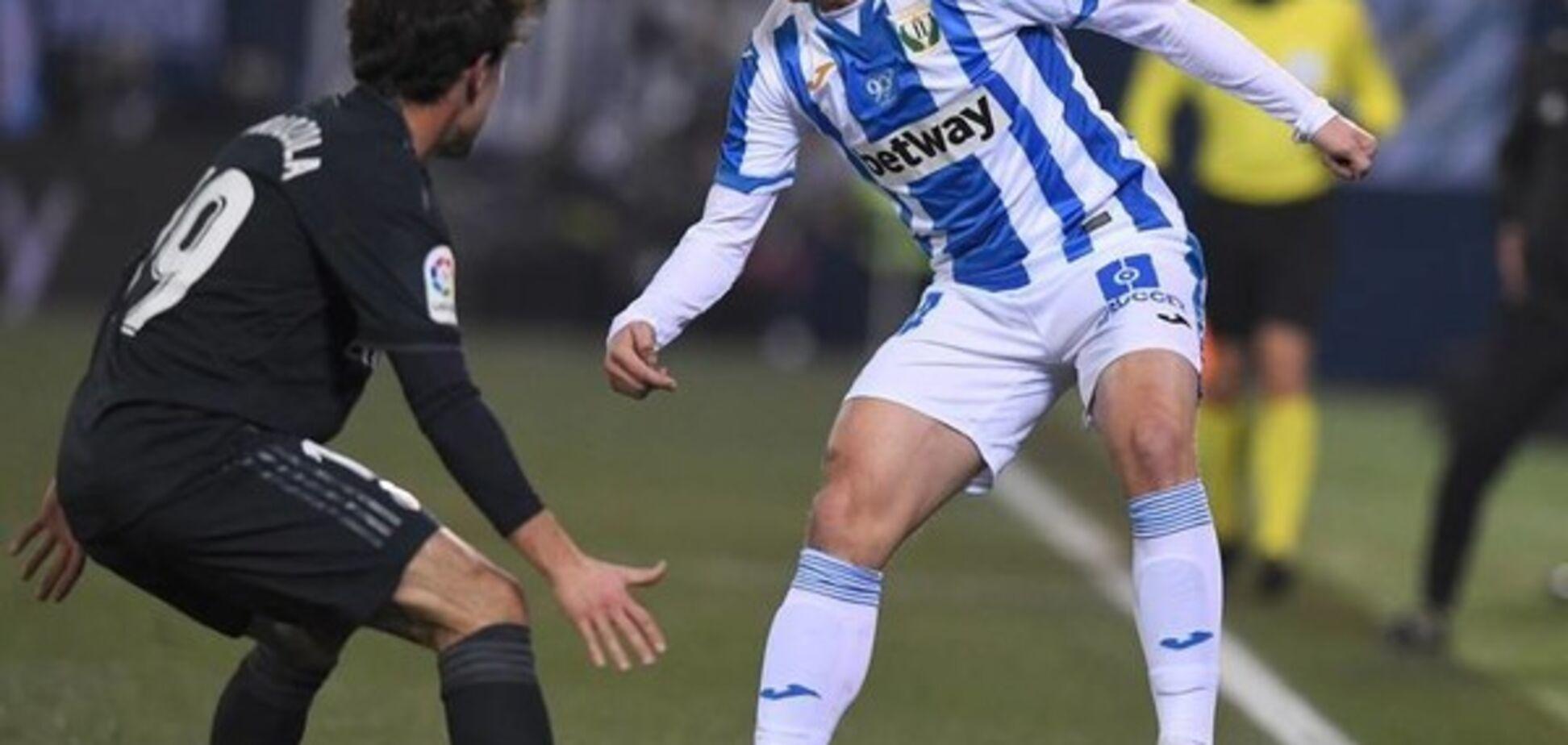 Українець допоміг 'Леганесу' обіграти мадридський 'Реал'