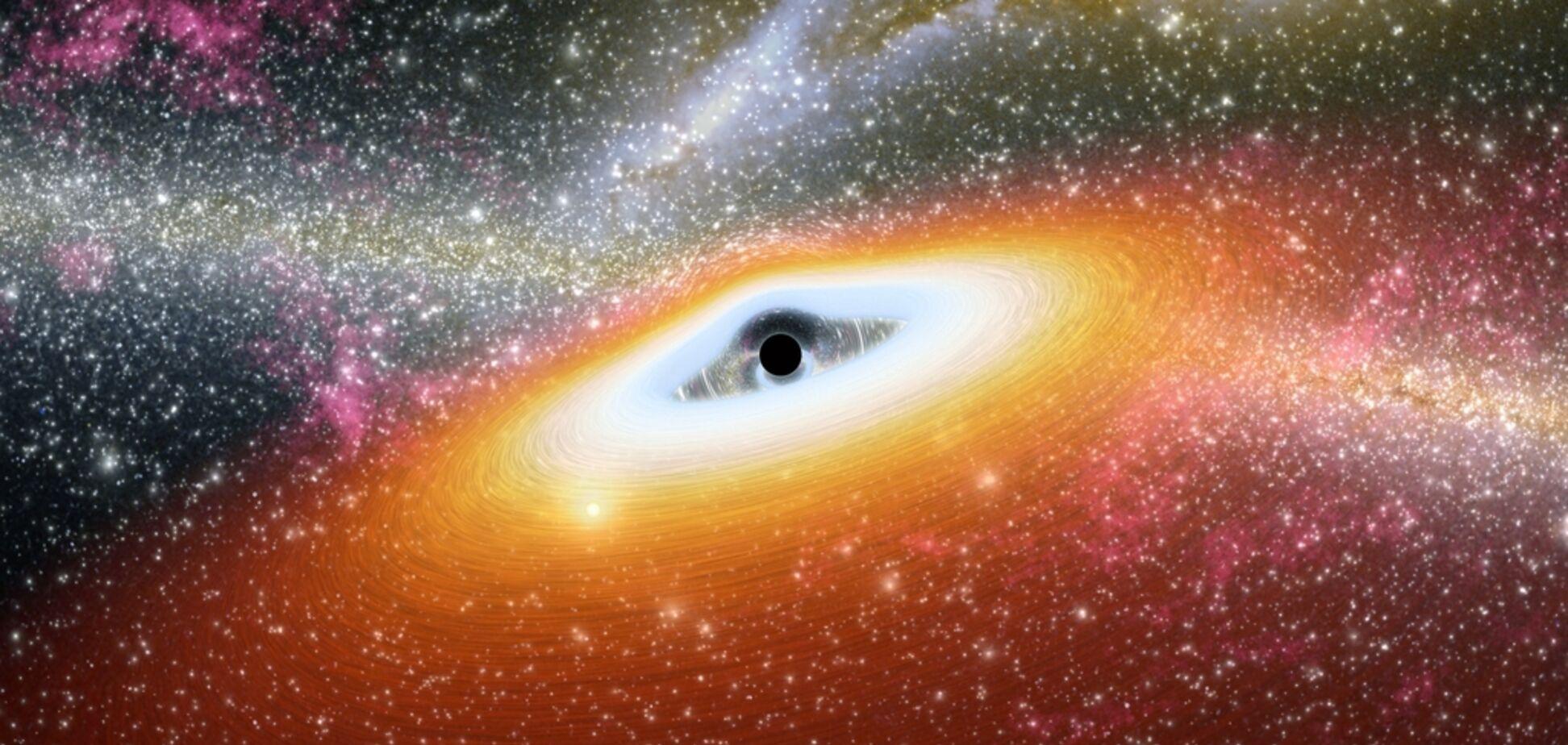 Великий вибух: народження чорної діри вперше потрапило на фото