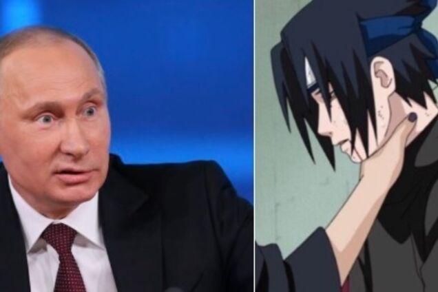 Путин душит: сеть покорил новый мем из аниме