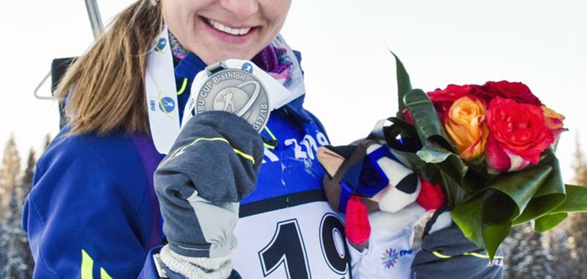 Украинская биатлонистка выиграла гонку на Кубке IBU