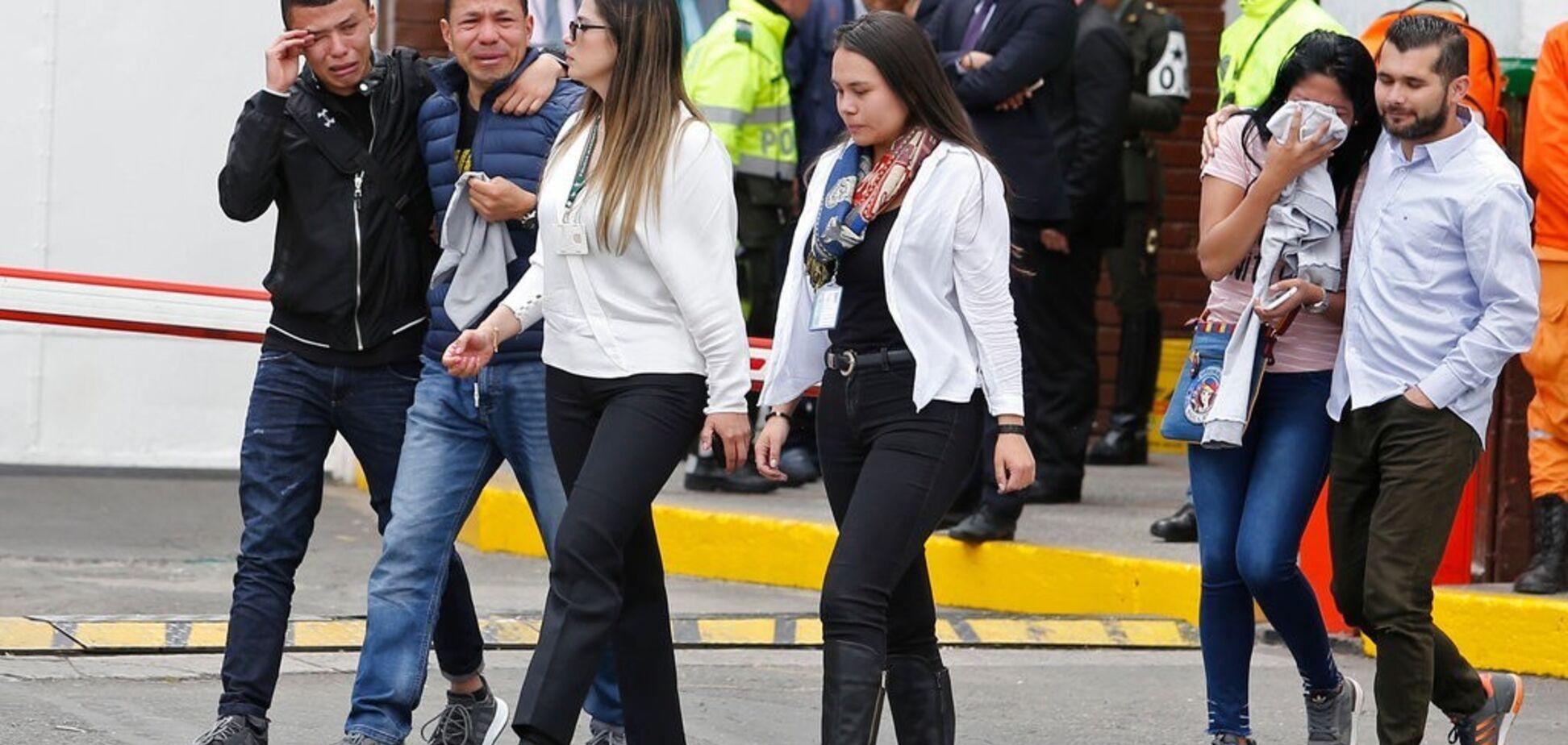 У Колумбії рвонуло біля поліцейської академії: 21 жертва, десятки поранених