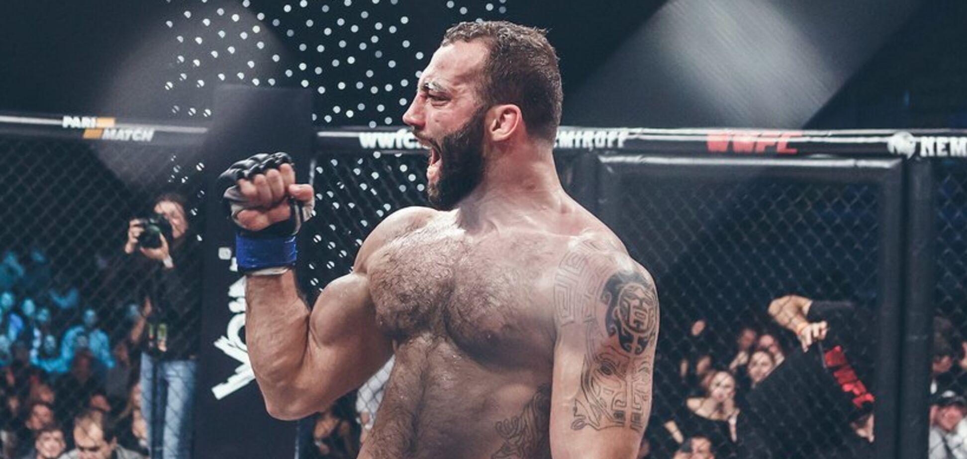 Роман Долидзе из WWFC перешел в UFC