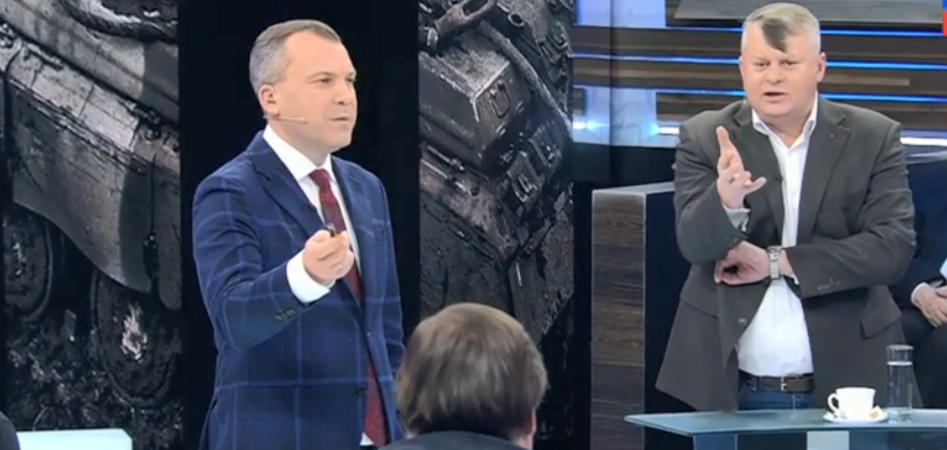 ''Подонок!'' Украинцы жестко сцепились на КремльТВ