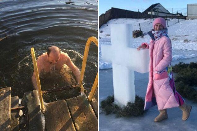 Украинские звезды отпраздновали Крещение: фото и видео купаний