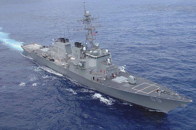Иллюстрация. USS Donald Cook