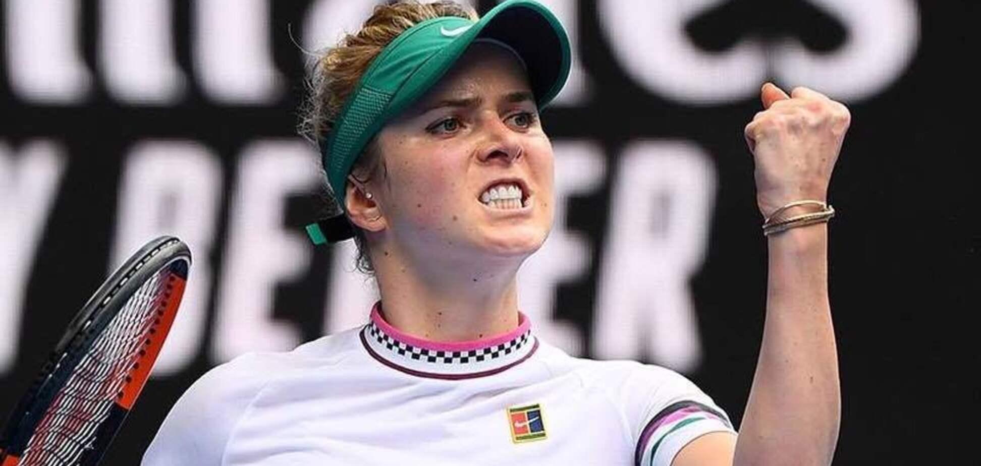 Невероятная воля к победе Элины Свитолиной