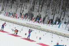 Жіноча естафета на Кубку світу з біатлону: де Україна