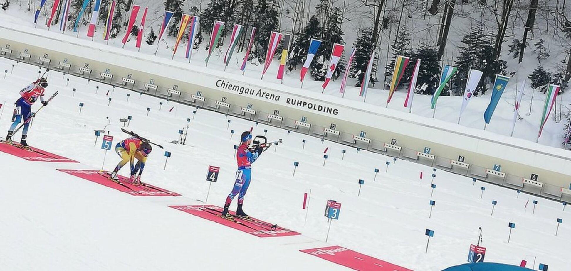 Женская эстафета на Кубке мира по биатлону: где Украина