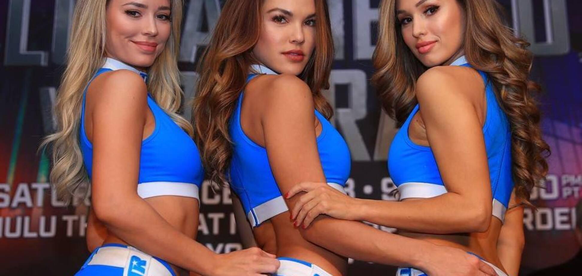 Сексуальные ринг-герлз боя Ломаченко записали горячее поздравление